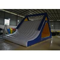 Fireproof Tarpaulin Inflatable Water Slide / Inflatable Sports Games