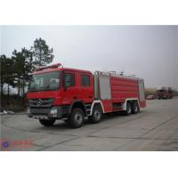 Quality Mercedes Commercial Fire Trucks Max Speed 100KM/H With Pressure Combustion for sale