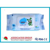Quality Baby cleaning Wet Wipe Baby Care Disposable Pure Cotton Wipe Big Package 90PCS for sale