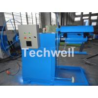 Industrial Automatic Hydraulic Decoiler Machine , Sheet Decoiling Machine Manufactures
