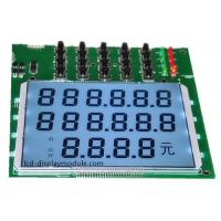 China Positive Transmissive LCD Display , PIN Connector HTN Monochrome LCD Panel on sale