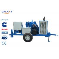 Underground Cable Pulling Equipment Diesel 49.2hp/36kw Hydraulic Puller Max pull force 100kN Manufactures
