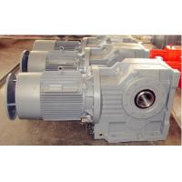 K Series Helical Bevel Gear Reducer With Motor for sugar cane Manufactures