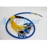 ST LC FC SC Armour Fiber Optic Pigtail Multimode For Fiber Patch Panel And Fiber Adapter Manufactures
