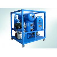 PLC Control Switch Transformer Oil Centrifuging Machine , Oil Filtration Equipment Manufactures
