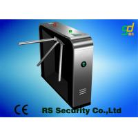 Luxury Black Security Tripod Turnstile Gate Civilized And Orderly Access Manufactures