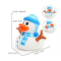 LED Christmas duck, Flashing Santa ducks, Glow in the dark night Luminous duck Manufactures