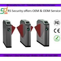 Full Automatic Security Controlled Access Turnstiles Rfid Card Reader Manufactures