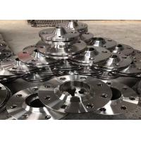 Counter Stainless Steel Flanges , Heat Exchanger Reducing Weld Neck Flange 4 inch Manufactures