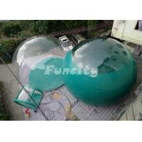 EN15649 Certificated 4M Inflatable Bubble Tent With 0ne / Two Rooms Manufactures