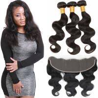 Quality Authentic Virgin Brazilian Hair Extensions , Brazilian Remy Virgin Hair Weave for sale