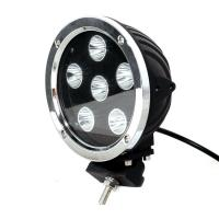 Super Bright 60W 7 Inch Led Work Lights For Trucks CREE LED 6000K LED Lighting Manufactures