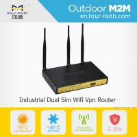 F3B32 wireless modem network routers 3g load balance dual sim card router Manufactures