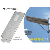 Infrared Motion Sensor Integrated Solar Street Light with Light Control App Control System Manufactures