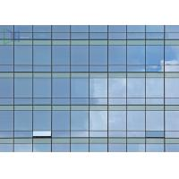 Quality Reflective Glass Aluminium Glass Curtain Wall For Commercial Building ISO 9001 Certificate for sale