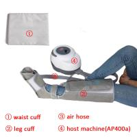Non - Woven Air Compression Leg Massager For Foot Calf And Thigh Circulation Manufactures