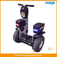 Standing 48cm Vacuum Tire Off Road Electric Scooter Two-Wheel For Policeman Manufactures