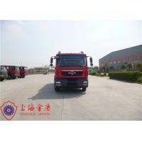 Quality Imported Chassis Heavy Rescue Fire Truck , Front Protraction 500mm Tanker Fire Truck for sale