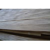 Quality Natural Zebrano Quarter Cut Plywood Veneer , 0.45mm Thickness for sale