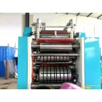 China PLC Pop up Foil Sheet Folding Machinery with Feed - breakup auto stop function on sale