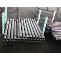Metal Rod Hollow Piston Rod For Hydraulic Machine , Steel Pipe Bar Manufactures