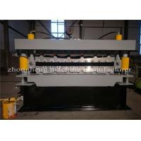 China Commecial Cladding R Panel Roofing Sheet Roll Forming Machine Two Deck on sale