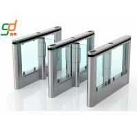 Customized Automatic Turnstiles IR Sensor Fast Speed Swing Barrier Gates Manufactures