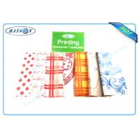 Full Range Color Customized Printing Patern PP Non Woven Fabric for Tablecloth Manufactures
