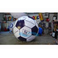 Quality Hand Painting 0.18mm PVC Sports Balloons / Helium Soccer Ball For Sport for sale