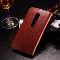 Quality Colored Moto X Play Leather Case , PU Leather Motorola Protective Case for sale