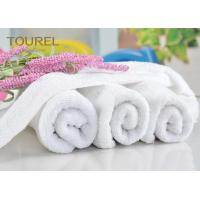 Luxury 21S/2 Cotton Terry Hotel Hand Towels Plain Design for Gym Manufactures
