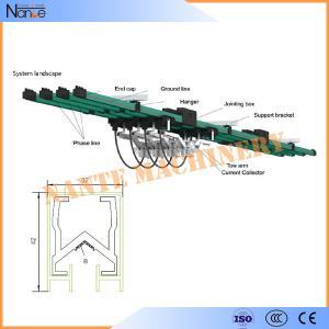 Aluminum / Copper Single Pole Insulated Crane Conductor Bar JDC H32 Manufactures