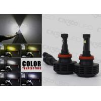 Dual Side H11 Led Automotive Headlights 6000 Lumen with Cree Chip Manufactures