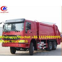 Hot selling SINO TRUK HOWO 6*4 16M3 Compressed rubbish Truc, wholesale good price 16m3 garbage compctor truck Manufactures