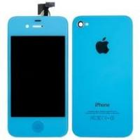 Custom LCD Assembly Apple IPhone 4S Repair Parts Baby Blue Conversion Kit Replacement Manufactures