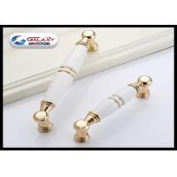 Gold Cupboard Pull Ceramic Handles And Knobs White Porcelain Drawer Knob Village Design Manufactures