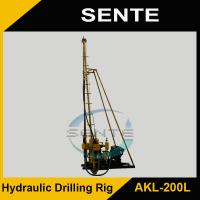 Powerful AKL-200L trailer mounted water well drilling rig Manufactures
