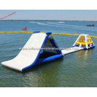 Commercial Inflatable Water Park Equipment , Durable PVC Tarpaulin Manufactures