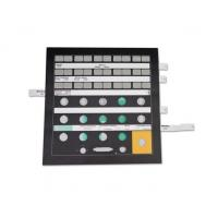 0.125mm / 0.188mm PET Membrane Switch With Gold Plated Metal Dome Manufactures