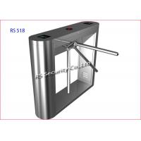 Security Pedestrian Tripod Turnstile Gate Barrier Hotel Lobby And Tourist Manufactures