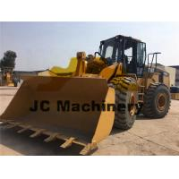 6 Cylinders Used Caterpillar Wheel Loader , Cat 966G Wheel Loader 6 Ton