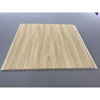 12 Inch × 6mm High Strength PVC Garage Wall Panels With Golden Lamination Manufactures