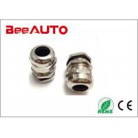 Explosion Proof Cable Gland  Connector , Nicke Plated Metal Brass Cable Gland Manufactures