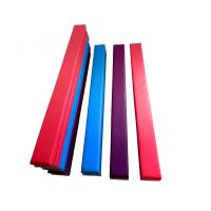 Anti Crack Low Balance Beam , Fold Up Gymnastics Beam EVA Foam Material Manufactures