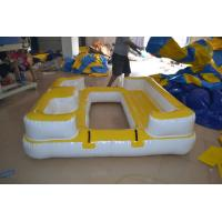 Giant Inflatable Water Toys Trampoline Exciting Water Jumping And Add Water Slide Manufactures