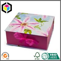Matte Pink Color Paper Packaging Gift Box; Small Size Regid Gift Packaging Box Manufactures
