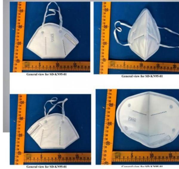 Quality Nan Qi Xing Brand CE FDA 3D Folding Kn 95 Kn95 Kn-95 EN149 FFP2 GB2626-2006 Anti Dust PM2.5 Mouth Respirator Facemask Fa for sale