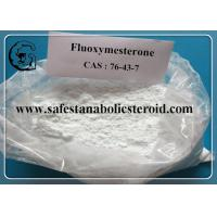 Fluoxymesterone Oral Anabolic Steroids Muscle Building Steroids CAS 76-43-7 Assay 99% Manufactures