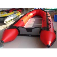 0.9mm PVC Inflatable Sailing Dinghy , 7 Person Inflatable Rescue Boat Manufactures