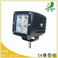 China 16W led car headlight 1040lm headlight12V led work light 4x4 accessories on sale